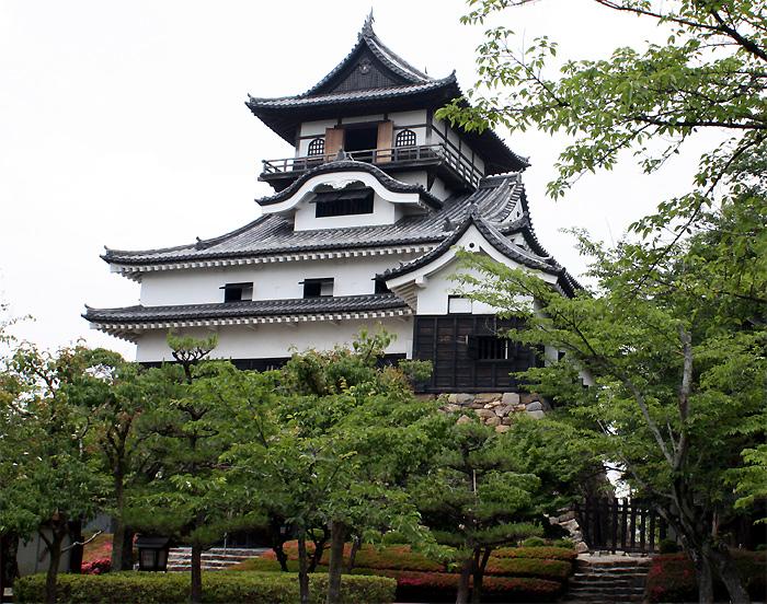 犬山城 城の写真